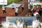 حضور دانشجویان پسر دانشگاه در سیزدهمین المپیاد فرهنگی و ورزشی