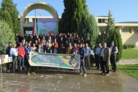 همایش پیاده روی دانشجویان، اساتید و کارکنان دانگشاه